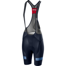 Castelli Free Aero Race 4 Short de cyclisme Femme, savile blue/agate blue